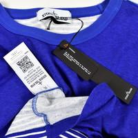Stone Island Marina blue long sleeve t-shirt XL