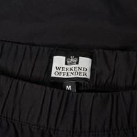 Weekend Offender Sicily cargo pants Black
