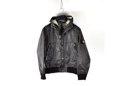 Stone Island Stone Island heat reactive hooded jacket XL