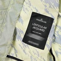 Stone Island shadow project lenticular jacquard bomber jacket L