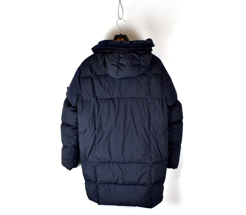 Stone Island garment dyed crinkle reps ny down parka XL