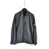 Stone Island grey gd crinkle reps ny overshirt jacket XXXL