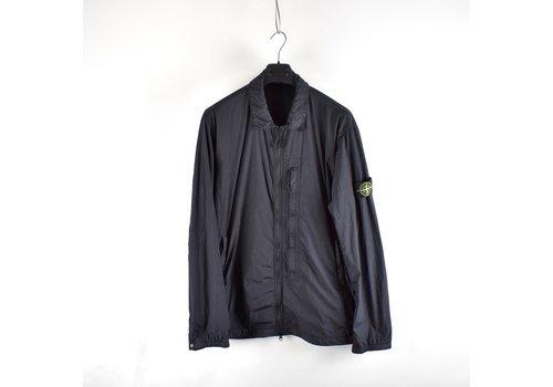 Stone Island Stone Island navy gd crinkle reps ny overshirt jacket XXXL