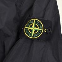 Stone Island navy gd crinkle reps ny overshirt jacket XXXL