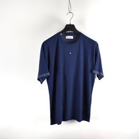 Stone Island Marina navy slub cotton jersey short sleeve t-shirt L