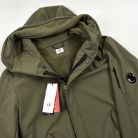 C.P. Company olive green cp shell lens detail fishtail parka size 52