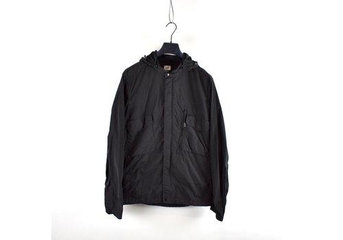 C.P. Company C.P. Company black chrome goggle hood mille miglia overshirt jacket XL