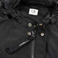 C.P. Company black chrome goggle hood mille miglia overshirt jacket XL