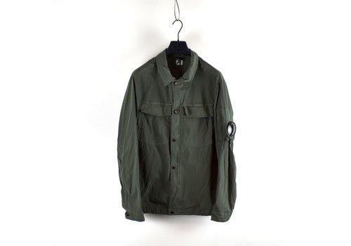 C.P. Company C.P. Company green nycra lens detail overshirt jacket size 54
