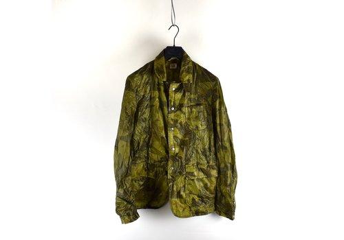 C.P. Company C.P. Company lightweight green camo blazer jacket size 50