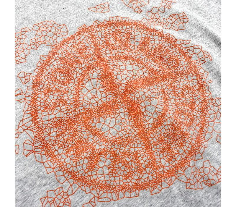 Stone Island grey graphic two t-shirt XL