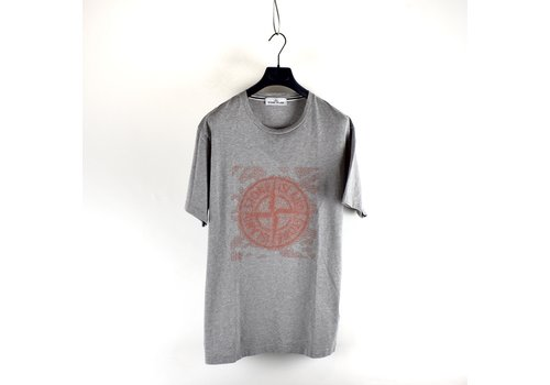 Stone Island Stone Island grey graphic two t-shirt XL