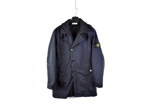 Stone Island Stone Island navy 3l performance cotton trench coat XL
