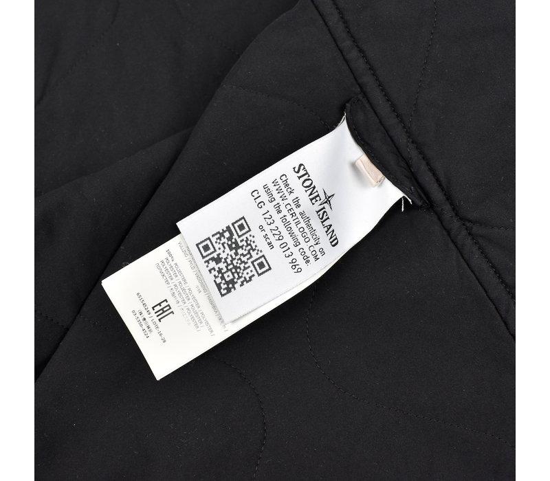 Stone Island navy 3l performance cotton trench coat XL