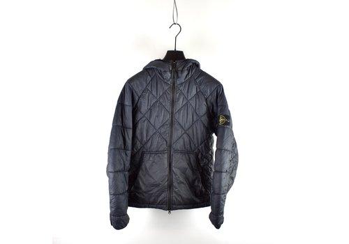 Stone Island Stone Island navy gd quilted micro yarn jacket M