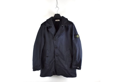 Stone Island Stone Island navy david-tc trench coat XL