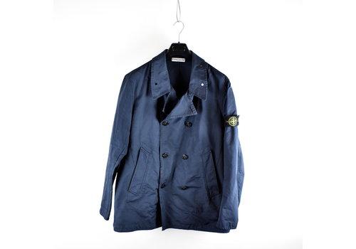 Stone Island Stone Island navy david-tc microfiber trench coat XXXL