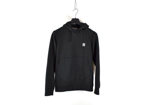 Stone Island Stone Island black hooded patch program sweatshirt L