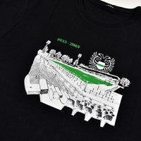 Three Stroke Productions Old Town Stadium Project stadion Oosterpark Groningen t-shirt Black