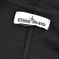 Stone Island black light soft shell-r hooded parka XXL