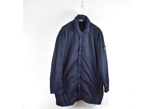 Stone Island Stone Island navy nylon batavia-tc trench coat XXXL