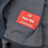 C.P. Company navy pro-tek lens detail fishtail parka size 48