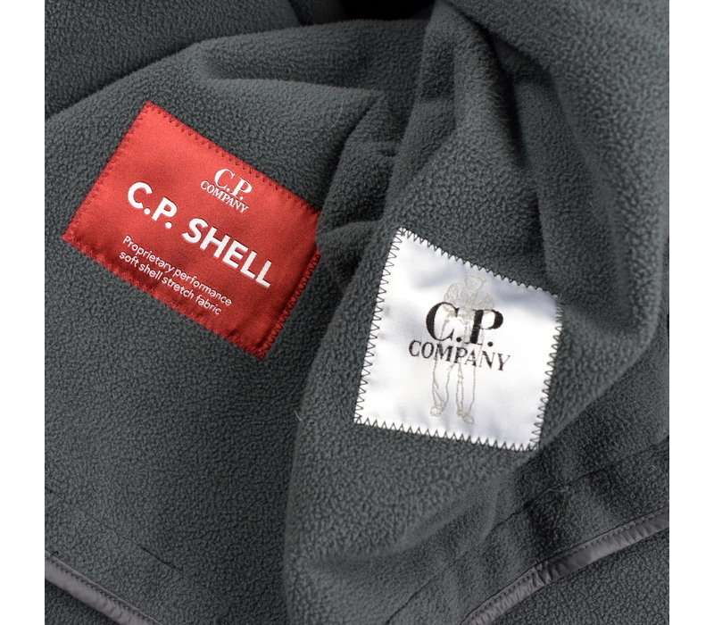 C.P. Company navy cp shell lens detail anorak size 56