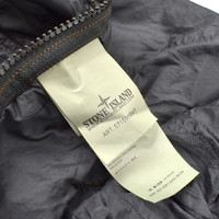 Stone Island shadow project black quilted PARSEQ scarf