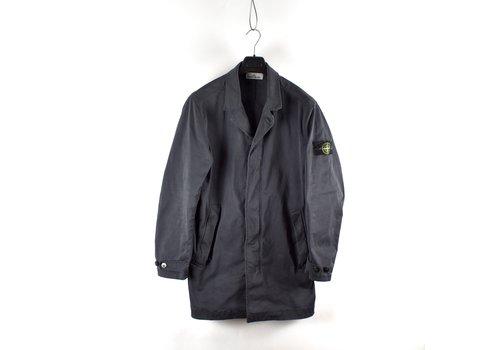 Stone Island Stone Island blue grey david jersey-tc trench coat XL