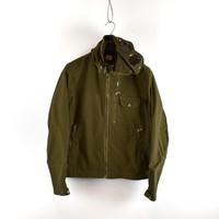 C.P. Company green batavia mille miglia goggle jacket 50