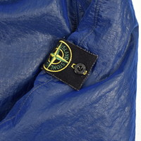 Stone Island blue double mesh lined jacket XL