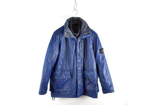 Stone Island Stone Island blue double mesh lined jacket XL