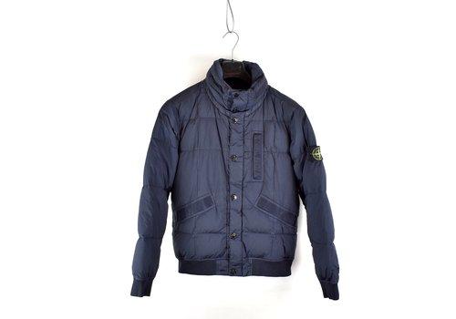 Stone Island Stone Island navy garment dyed crinkle reps ny down jacket S