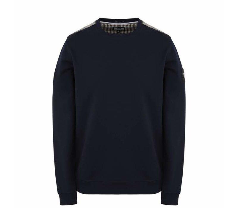 Weekend Offender Miho crew neck sweatshirt Navy