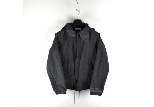 Stone Island Stone Island black sublimation printed yarn jacket M