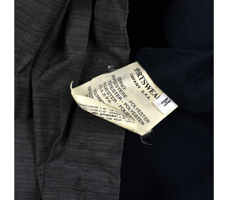 Stone Island black sublimation printed yarn jacket M