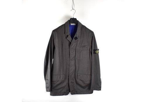 Stone Island Stone Island grey raso-r mid length jacket XL