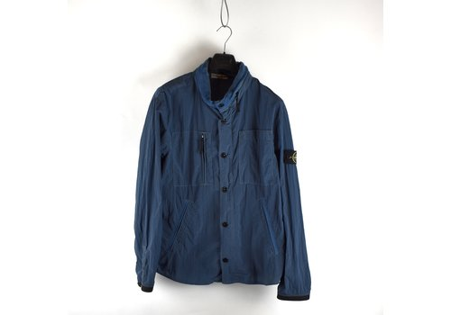Stone Island Stone Island blue nylon rip stop  jacket XXL