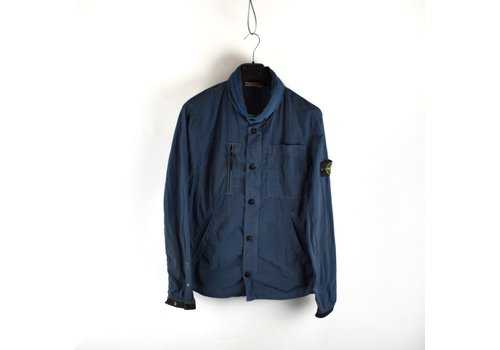 Stone Island Stone Island blue nylon rip stop  jacket L