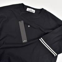 Stone Island Marina black short sleeve t-shirt S