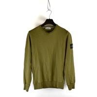 Stone Island green crew neck sweatshirt M