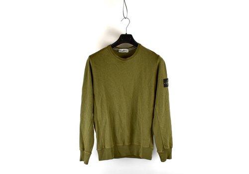 Stone Island Stone Island green crew neck sweatshirt M