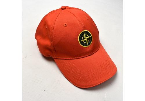 Stone Island Stone Island red cotton compass logo cap