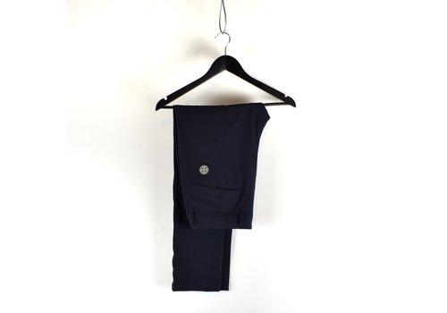 Stone Island Stone Island navy stretch cotton nylon re-t patch program pants 29