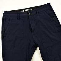 Stone Island navy stretch cotton nylon re-t patch program pants 29