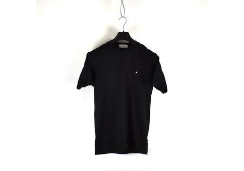 Stone Island Stone Island black pique short sleeve t-shirt S