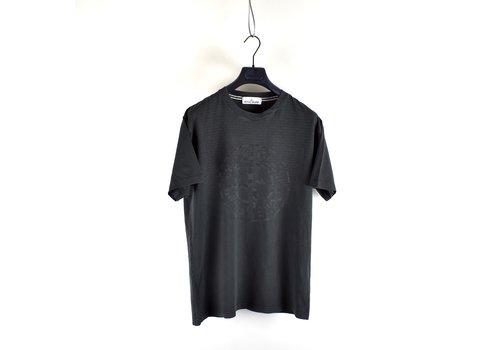 Stone Island Stone Island black compass logo t-shirt L