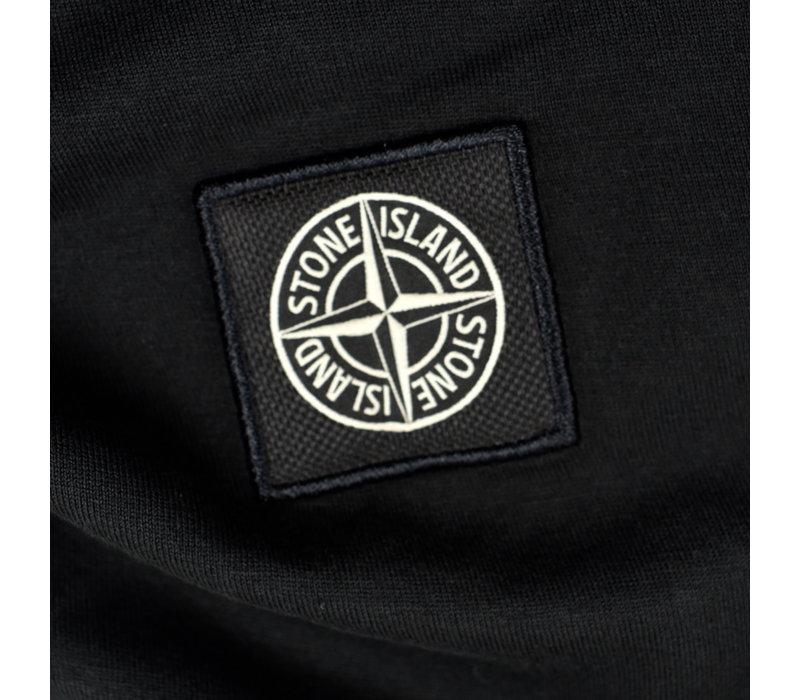 Stone Island black patch program cotton short sleeve t-shirt S