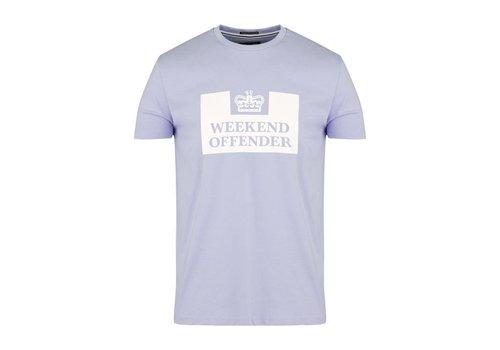 Weekend Offender Weekend Offender Prison logo t-shirt Lavender