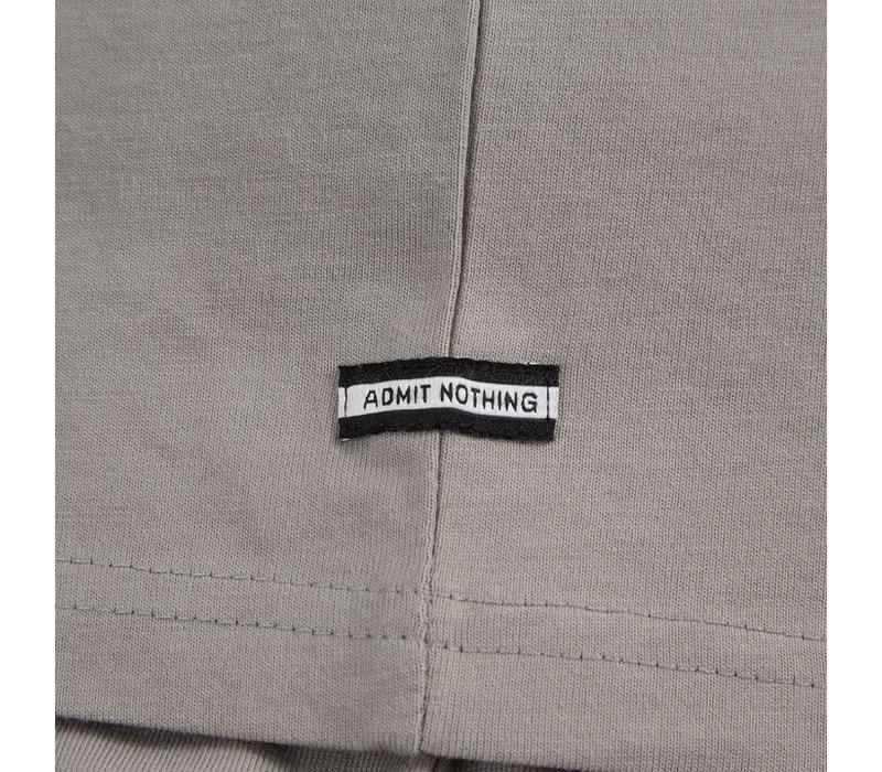 Weekend Offender Prison logo t-shirt Bullet Grey